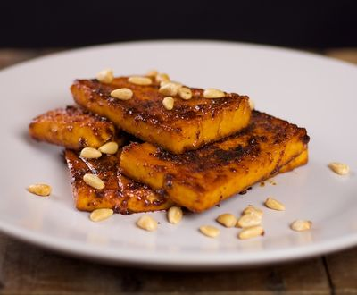 Smoky Spice Crusted Tofu