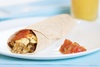 Breakfast Burrito Anytime, save time and money with grab and go breakfasts at home