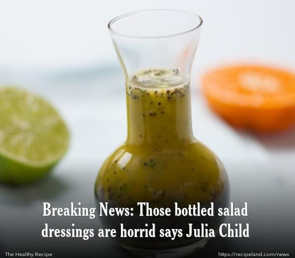 Orange Poppyseed Salad Dressing