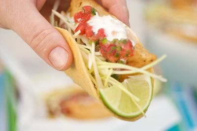 Homemade taste-alike Rubio's Fish Tacos