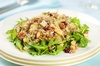 Quina, Fresh Veggies, Walnuts and Cranberry Salad