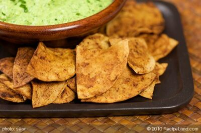 Homemade Chili Lime Tortilla Chips