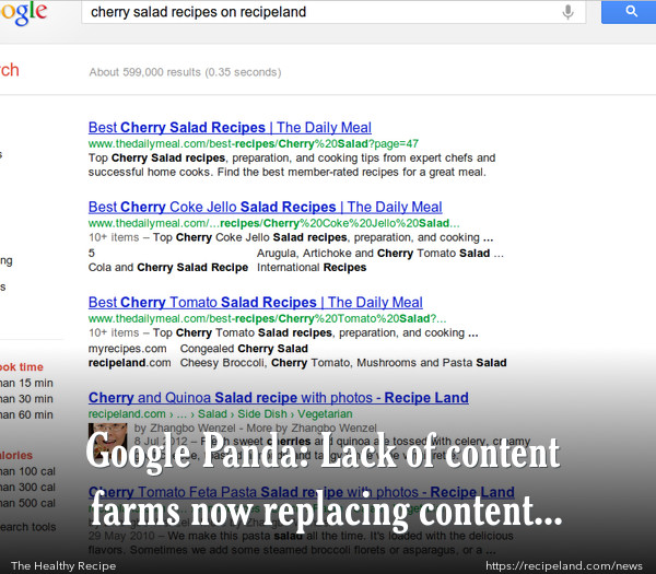 Google Panda: Lack of content farms now replacing content farms?