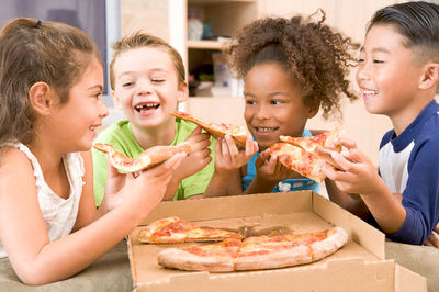 Kids Eat More When Allowed Food Choices and Portion Sizes