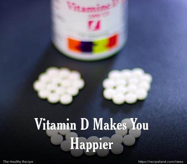 Vitamin D Makes You Happier