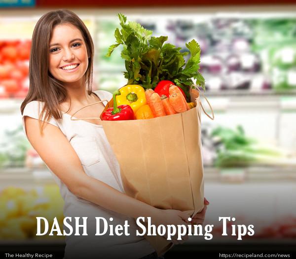 DASH Diet Shopping Tips