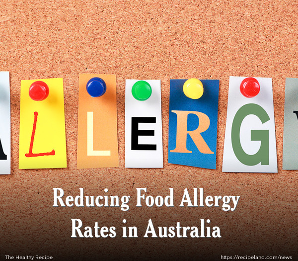 Reducing Food Allergy Rates in Australia