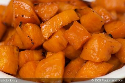 Maple Syrup Roasted Sweet Potatoes
