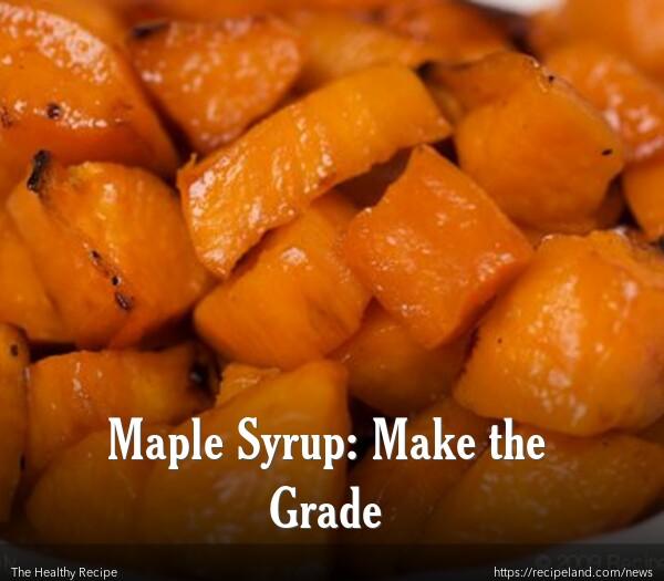 Maple Syrup Roasted Sweet Potatoes
