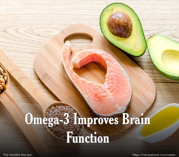Omega-3 Improves Brain Function