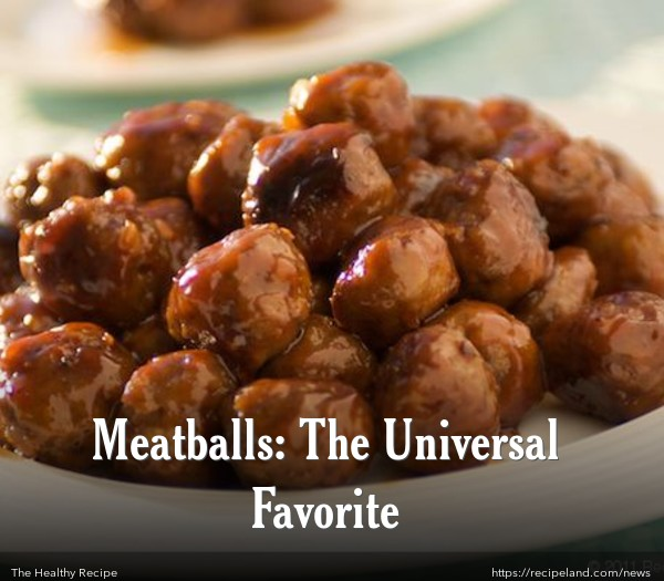 Honey Garlic Glazed Meatballs