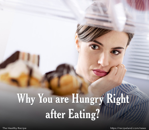 Why You are Hungry Right after Eating?