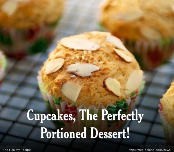 Ricotta Lemon Cupcakes with Almond