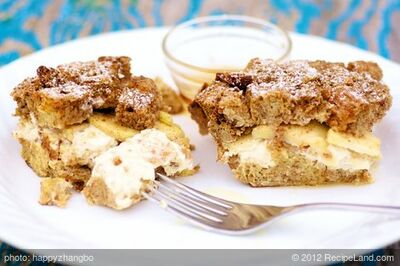 Apple French Toast Strata