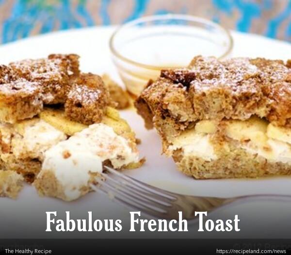Apple French Toast Strata