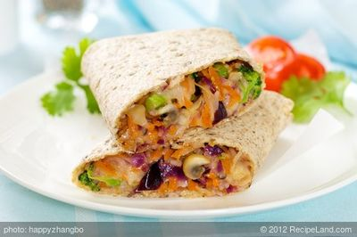 Hearty Garden Wraps