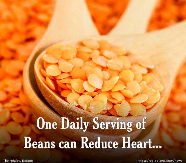 One Daily Serving of Beans can Reduce Heart Disease