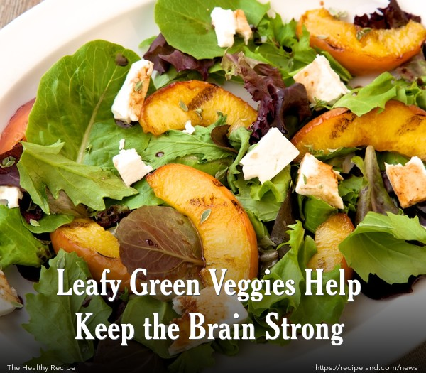 Leafy Green Veggies Help Keep the Brain Strong