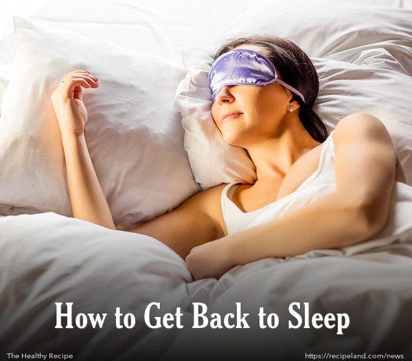 How to Get Back to Sleep