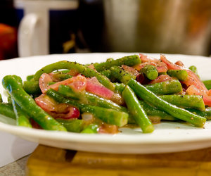 Green Beans With Cider Glaze (Thanksgiving)