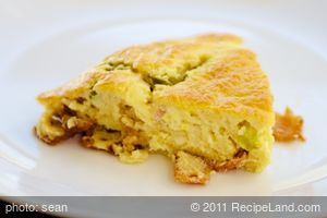 Bacon Bisquick Breakfast Pie