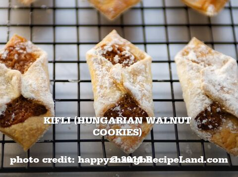 Kifli (Hungarian Walnut Cookies)