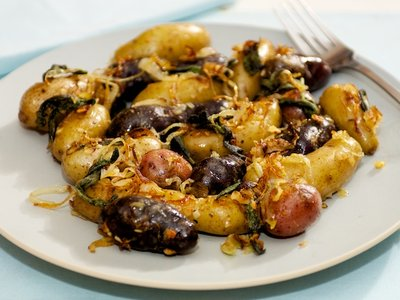 Pan Roasted Potatoes with Sage