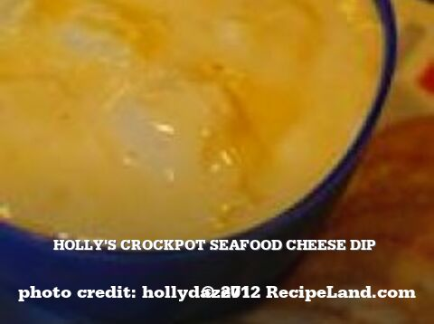 Holly's Crockpot Seafood Cheese Dip