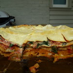 So Yummy Vegetarian lasagna