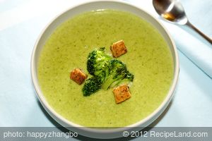 Broccoli and Swiss Cheese Soup