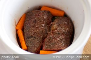 Braised Short Ribs for Two