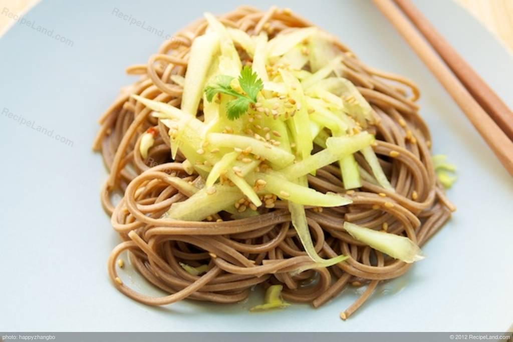 Sunomono or Japanese Noodle and Cucumber Salad Recipe