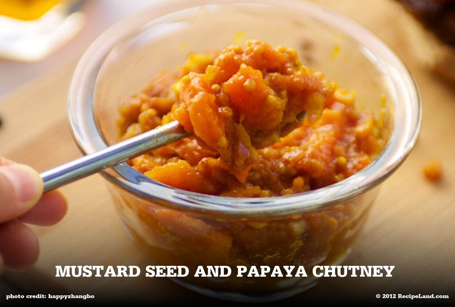Mustard Seed and Papaya Chutney