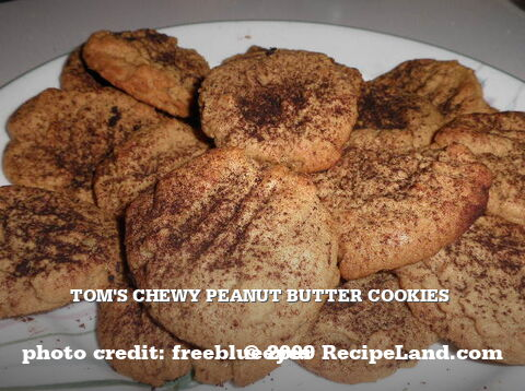 Tom's Chewy Peanut Butter Cookies