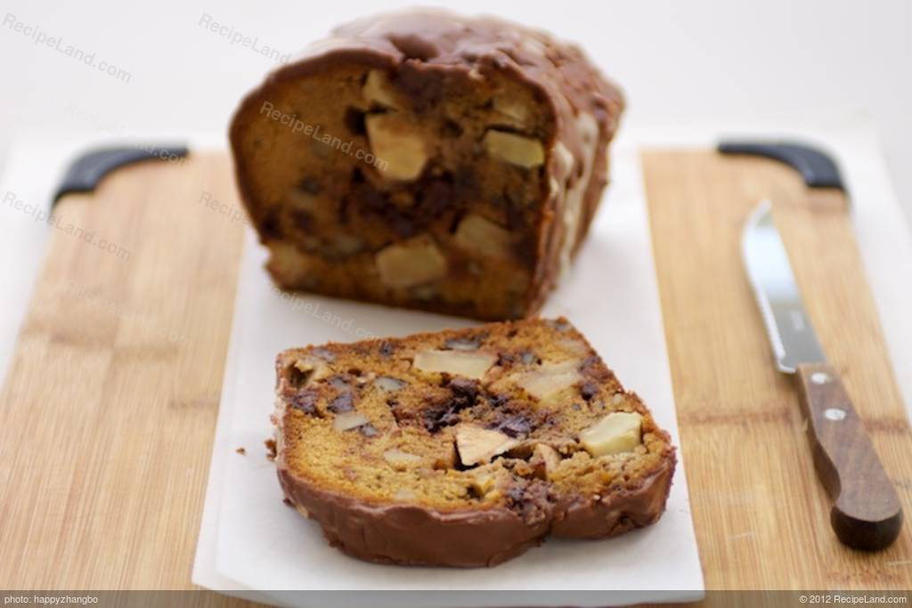Apple Cake With Black Walnuts Recipe