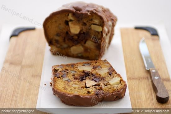 Apple Black Walnut Cake