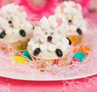 Easter Little Sheep Cupcake