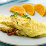 Brie and Bacon Omelet
