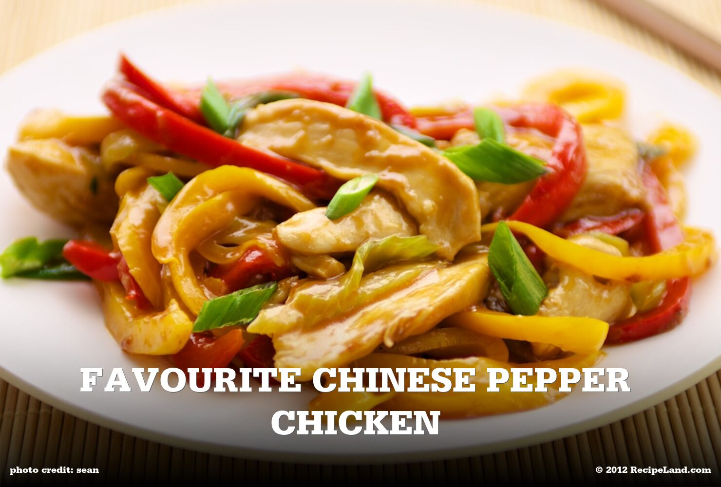 Favourite Chinese Pepper Chicken