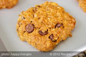Applesauce Chocolate Chip-Oatmeal Cookies