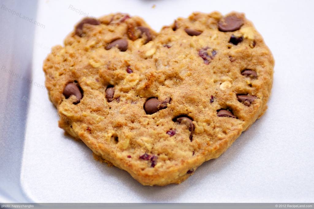 Valentine S Day Chocolate Chip And Peanut Butter Cookies Recipe