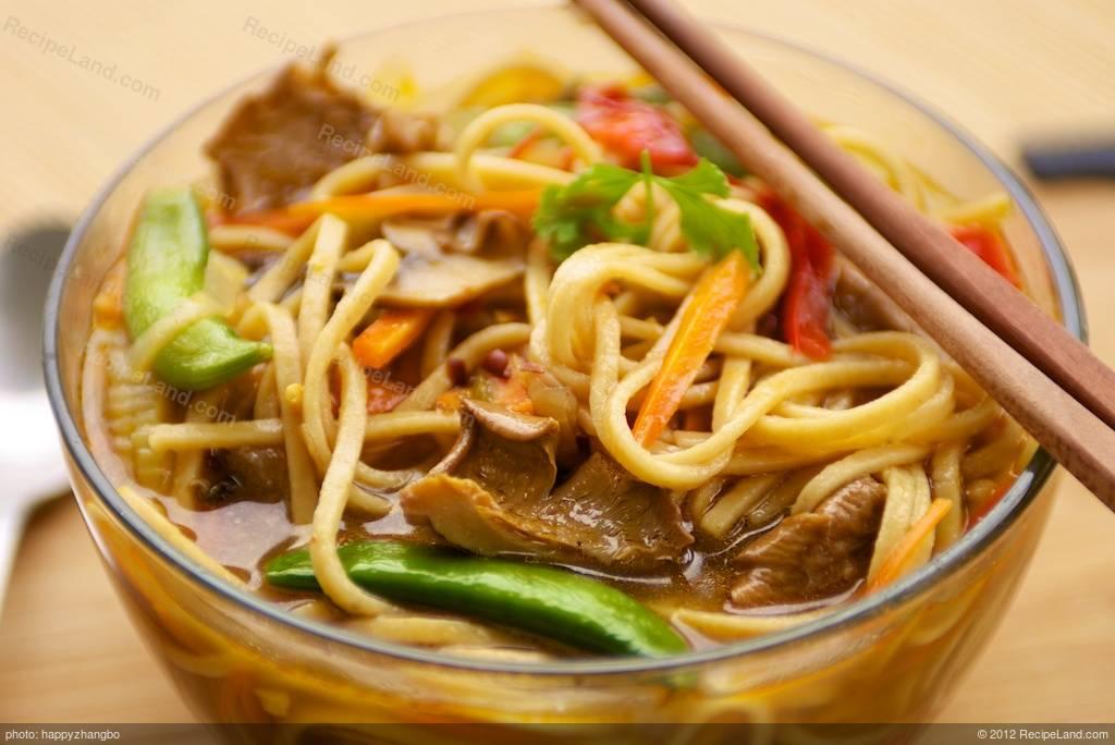 Best Hot and Sour Udon Noodle Soup Recipe