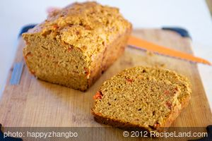 Cheesy Tomato Quick Bread