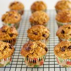 Banana Chocolate Chip Yogurt Muffins