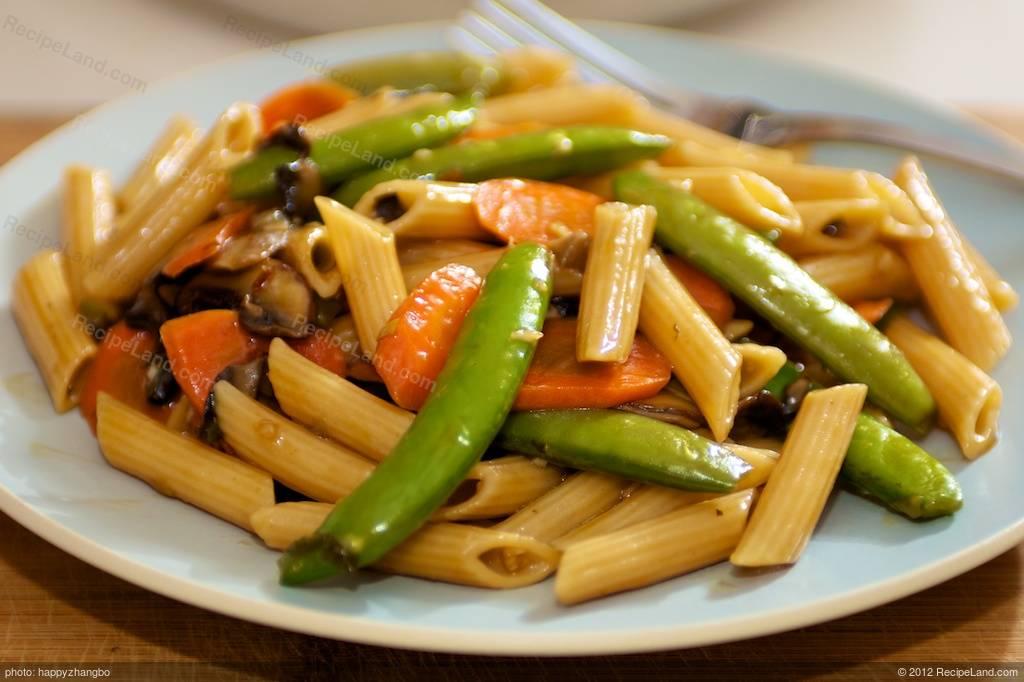 Pasta Stir Fry Recipe Recipeland Com