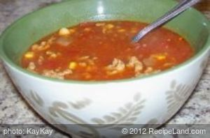 Amy's Mexican Chili Crockpot Soup