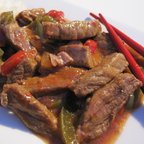 Slow-Cooked Pepper Steak