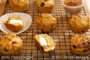 Baby Routh's Rosemary Muffins with Goat Cheese