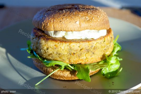 Salmon Rosemary Burgers Recipe