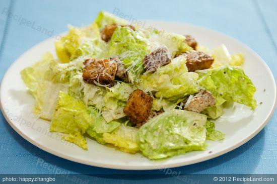 Low Fat Ceasar Salad 121